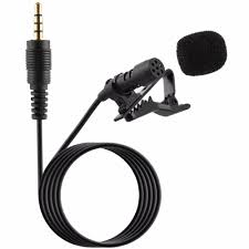 Portable Professional Grade Lavalier Microphone <b>3.5mm Jack</b> ...
