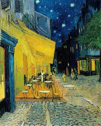 <b>Terrace</b> of a <b>café</b> at night (Place du Forum) - Vincent van Gogh ...