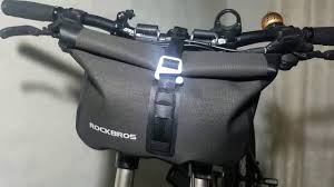 Rockbros <b>Handlebar Bag</b> AS-016 Review - YouTube