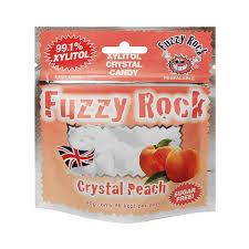 <b>Кристаллы ксилитола Fuzzy</b> Rock, без сахара, со вкусом персика ...