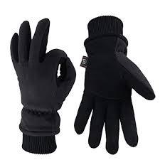 <b>KIM YUAN</b> Winter Gloves - Cold Proof, 3M Thinsulate, Deerskin ...