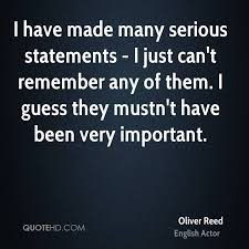 Oliver Reed Quotes | QuoteHD