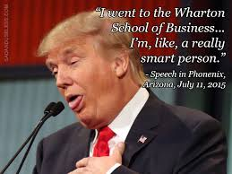Image result for Trump is smart picture