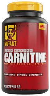 Купить Mutant <b>L</b>-<b>карнитин</b> Core Series (<b>120</b> шт.) нейтральный по ...