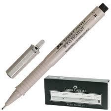 "Купить <b>Ручка капиллярная</b> (линер) <b>FABER</b>-<b>CASTELL</b> ""Ecco ..."