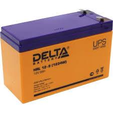 <b>Аккумулятор для ИБП</b> 12V 9Ah <b>Delta</b> HRL 12-9 — купить, цена и ...