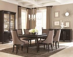 dining room set black upholstered