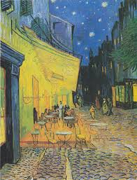 <b>Café Terrace at</b> Night - Wikipedia