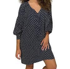 LOPILY <b>2019</b> Autumn Linen Dress <b>Women's</b> Ladies Plue Size ...