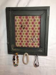 <b>Honeycomb</b> Distressed Barnwood <b>Jewelry holder</b> by ...