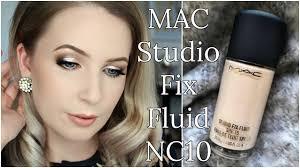 <b>MAC</b> Studio Fix Fluid <b>NC10</b> Review on PALE SKIN | Compare ...
