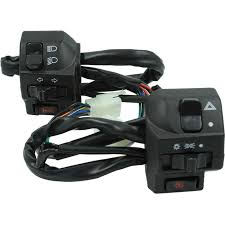<b>1 Pair 12V</b> Waterproof <b>Motorcycle</b> Left and Right Handlebar Control ...