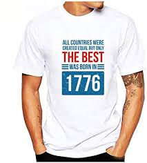 1776 Printed Shirt for <b>Mens</b>!<b>Men's</b> Independence Day <b>Casual Short</b> ...