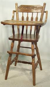 should i use an antique high chair from 1940s antique high chairs wooden