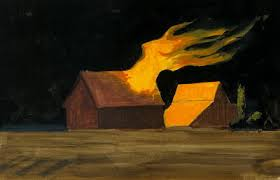 The rule is really explain the father  abner snopes burns  Is burning barn burning  Phenomenon