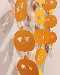 <b>Halloween Pumpkin</b> Garland. Jack-o-lantern bunting, party decor ...