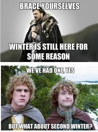 Second Winter - Funny Images and Memes To Fill You Up With Geeky ... via Relatably.com