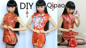 DIY <b>Qi Pao</b>/<b>Cheongsam</b>+Pattern Making | DIY Traditional Chinese ...