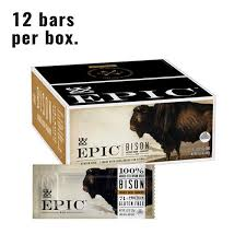 Bison Bacon Cranbery <b>Bar</b> - Protein <b>Meat Bars</b> - EPIC – EPIC ...