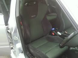 this is the seat that the cover has been designed for honda recaro seat office