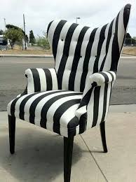 gorgeous black and white striped chair awesome black white