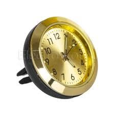 Часы <b>ароматизатор воздуха</b> в <b>дефлектор</b> золотой циферблат ...