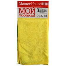<b>Салфетки набор Master House</b> микрофибра Мой любимый ...