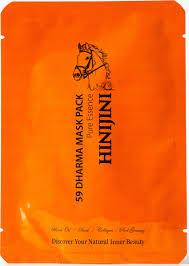 Hinijini <b>Маска для</b> лица <b>тканевая</b>, <b>антивозрастная</b>, с лошадиным ...