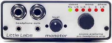 Little Labs Monotor – <b>профессиональный усилитель для наушников</b>