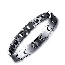 <b>Fashion</b> Casual <b>Jewelry</b> Magnetic Health <b>Tungsten Steel</b> Couple ...