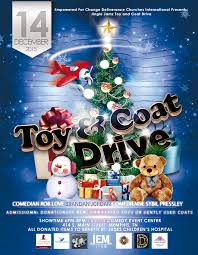 upcoming events jingle jamz toy coat drive i love memphis we are donating time back to our community the christmas jingle jamz toy coat drive all donations will be donated to st judes children s hospital