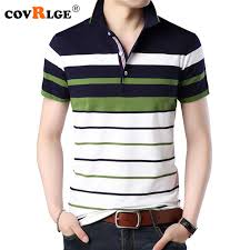 <b>Covrlge Mens</b> Polo Shirts 2018 New Fashion <b>Men</b> Tee Shirt ...