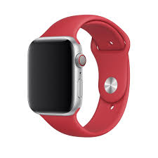 <b>Ремешок</b> Apple Watch 44mm <b>RED</b> Sport Band - S/M & M/L – купить ...