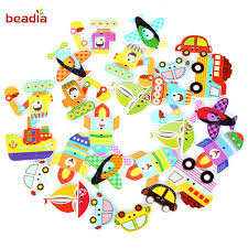 <b>New Arrival 50pcs</b> 23 32mm Colorful Wooden Buttons Beads Single ...