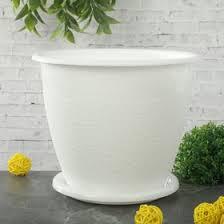 """<b>Горшок</b> для цветов с поддоном """"<b>Розалия</b>"""" 3,2 л, цвет белый ..."""