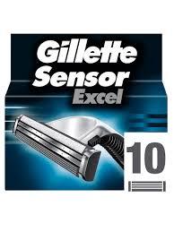 Cменные <b>кассеты</b> для бритья <b>SENSOR Excel</b>, 10 шт <b>GILLETTE</b> ...