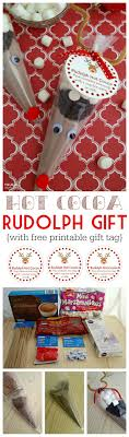 rudolph hot cocoa printable gift tag rudolph hot cocoa collage on frugal coupon living