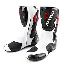 NEW Motorcycle Men's Racing boots <b>Four Seasons Professional</b> ...