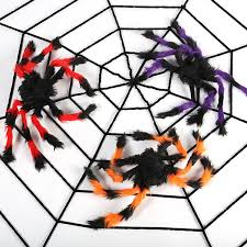 Horror Villi Spider <b>Simulated Spider Webs</b> Black And Multicolor ...