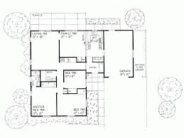 Eplans Ranch House Plan   L shaped Home   Square Feet and    Level