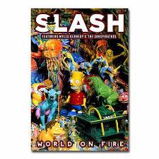 <b>Slash</b>: <b>World On</b> Fire Lithograph