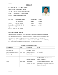 resume template tefl cv examples and advice throughout how to 85 amazing how to word a resume template