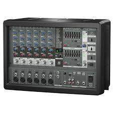 Купить <b>Микшерный пульт с усилением</b> : Профессиональное аудио