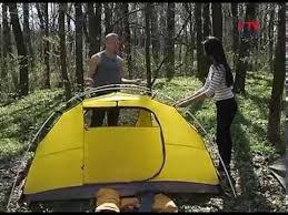 Как правильно поставить современную <b>палатку</b> - YouTube