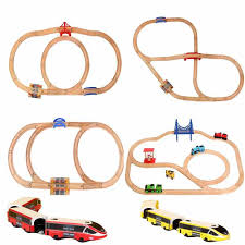 <b>Kids</b> Toy <b>Wooden Train</b> Track Electric Train Boy Simulation <b>Model</b> ...