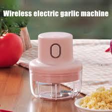 Wonderlife Wireless <b>Mini Electric Garlic</b> Food Chopper Ginger ...
