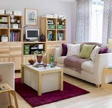 Purple Living Room Design Modern Bright Living Room Design With Straight Line Foamy White