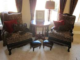 Leopard Print Living Room The Natural Choices Of Animal Printed Accent Chairs Style And Design