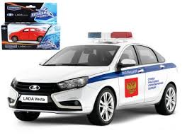 <b>Машина</b> Lada Vesta полиция 1:36 <b>Autogrand</b> купить ...
