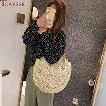 <b>floral</b> straw beach shoulder bag <b>rattan</b>
